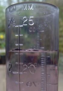 measuring tube